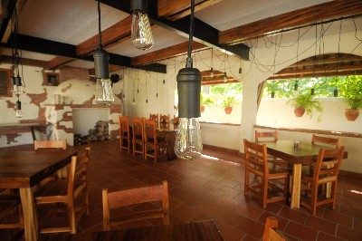 El restaurante del Sansara Resort