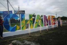 Chame Inaugurates New Sign