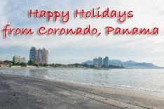 Happy Holidays from Coronado Panama