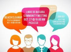 Libre de Basura meeting & cleanup dates